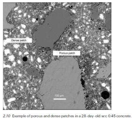 Photo of Spatial distribution of pores in concretes: local porous patches