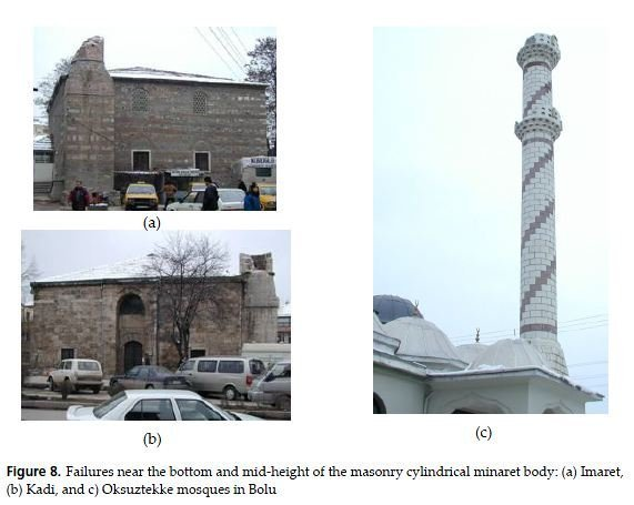 Photo of Earthquake damage in historical mosques