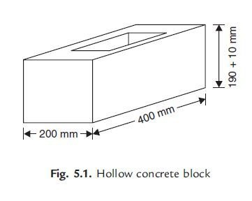 Photo of Solid and Hollow Concrete Blocks