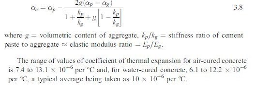 Photo of Thermal movement (Dimensional stability)