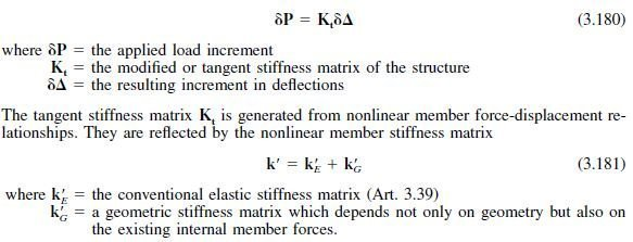 Photo of Geometric Stiffness Matrix Method for Second-Order Effects